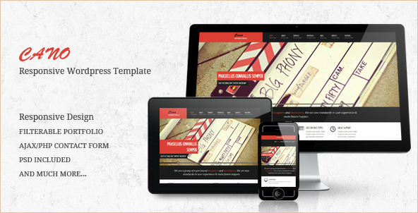 CANO - Mobile Responsive WordPress Theme