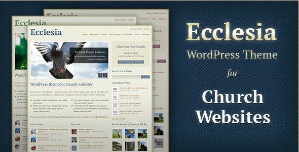 Ecclesia - WordPress Theme for Church Websites
