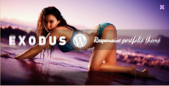 Exodus - WordPress Responsive Portfolio Theme