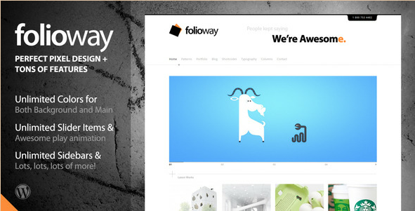Folioway - Portfolio Word Press Theme