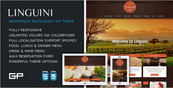 New WordPress Themes for Weddings, Restaurants, or Bands