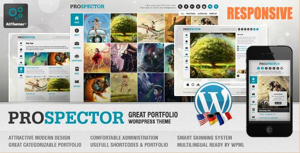 Prospector - Responsive Portfolio WordPress Theme