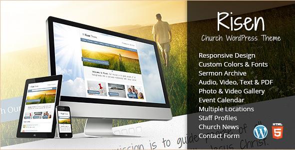 Risen - Responsive Church WordPress Theme