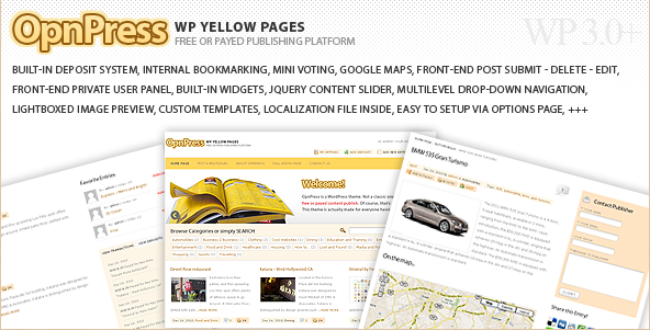 Sofa OpnPress - Publishing Platform WP Theme