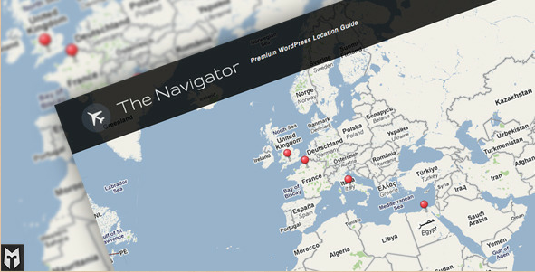 The Navigator - Premuim WordPress Location Guide and Blog
