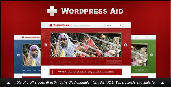 WordPress Aid - Charity Blog Theme