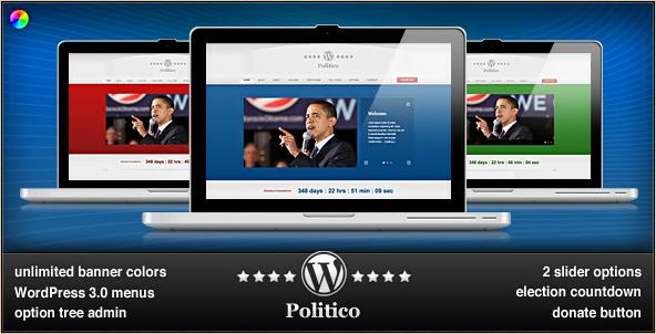 WordPress Politico - WP Political Theme