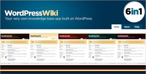WP Wiki Theme