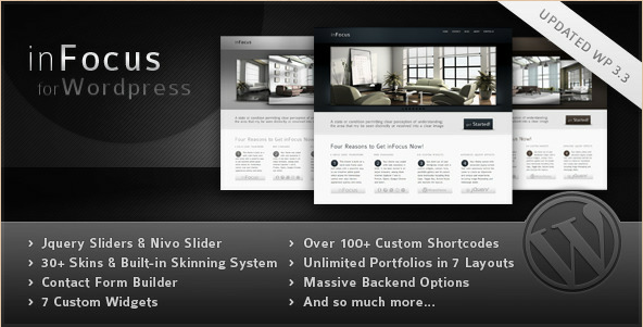 inFocus - WordPress Professional Theme