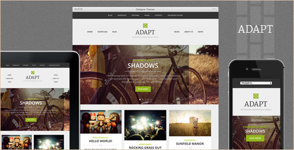 Adapt - Responsive WordPress Theme