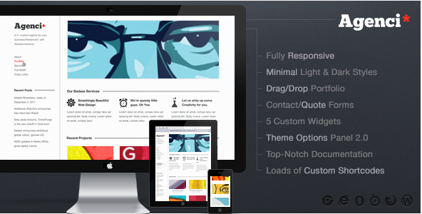 Agenci - Responsvie Creative WordPress Theme