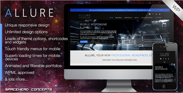 Allure - Professional WordPress Theme