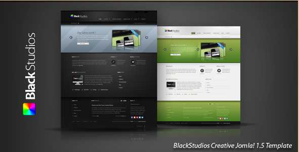 BlackStudios - Creative Joomla! Template