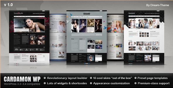 Cardamon WP - Multipurpose WP Theme
