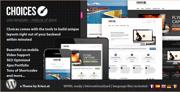 Choices - Responsive Business Theme