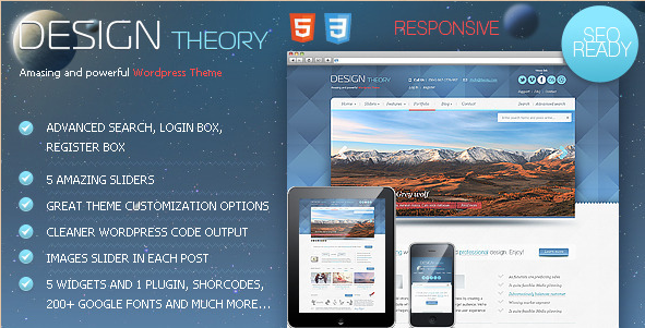 Design Theory - Business WordPress Theme