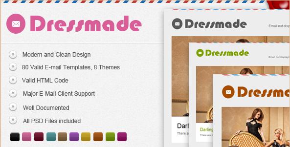 DressMade Email Theme