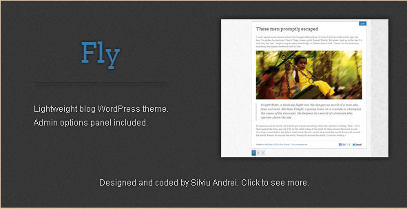 Fly - Lightweight WordPress Blog Theme