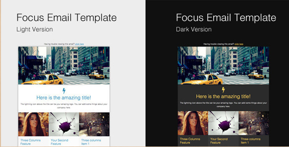 Focus Email Template