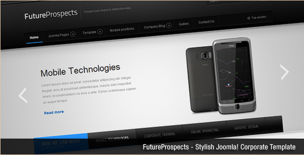 FutureProspects - Corporate Joomla Template