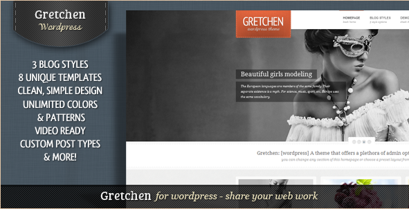 Gretchen - Flexible WordPress Theme