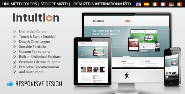 Intuition - Responsive WordPress Business Theme