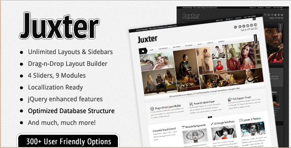 Juxter - Powerfully Elegant WordPress Theme