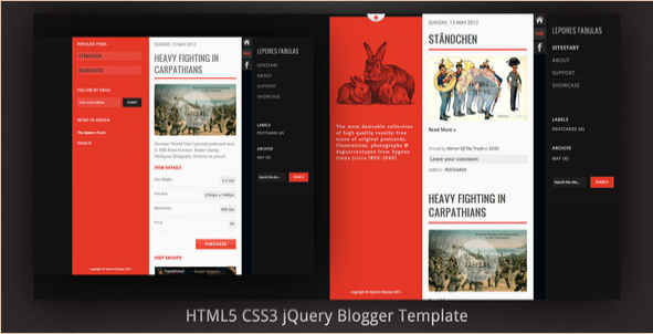 Best New Blogger Templates and Premium Themes | ThemeSquirrel