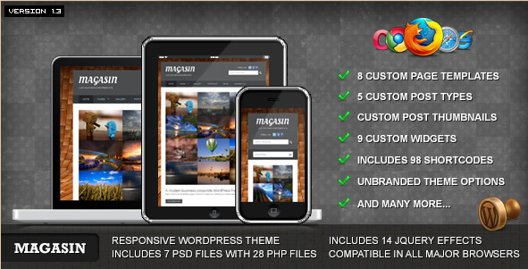 Magasin - Responsive Business WP Theme
