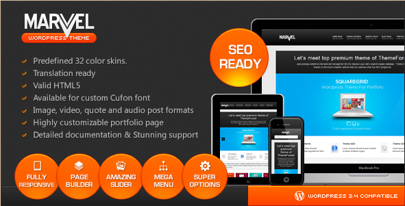 Marvel - SEO Responsive Business Theme
