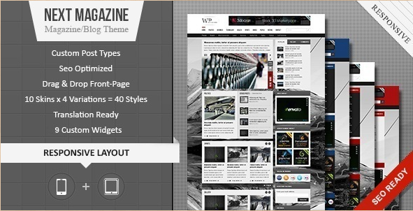 Next - Responsive WP Magazine Theme