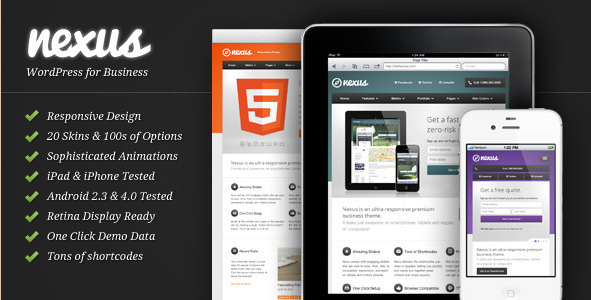 Nexus - Responsive Business WP Theme