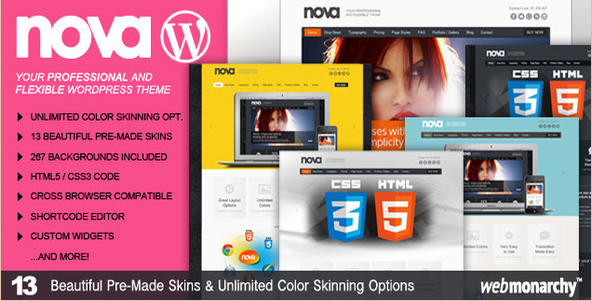 Nova - Professional and Flexible WordPress Theme