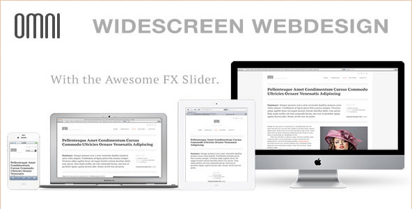 OMNI - Widescreen Business Theme
