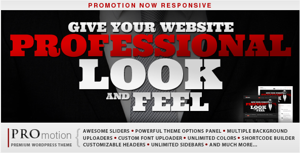 PROmotion - Responsive WordPress Theme