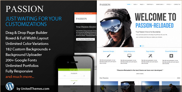 Passion - Reloaded WP Corporate Template
