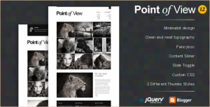 Point of View - Blogger Template
