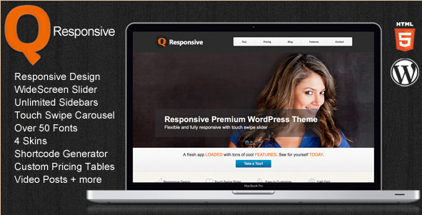 Q - Premium WordPress Theme