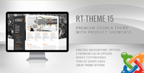 RT-Theme 15 - Joomla Theme