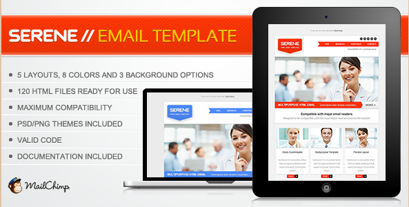 Serene Email Theme
