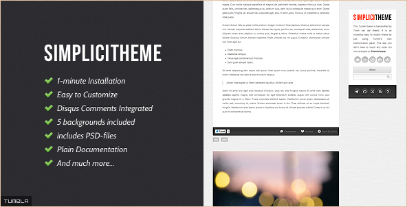 Best New Tumblr Templates and Premium Themes | ThemeSquirrel