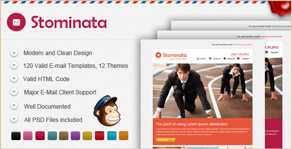 Stominata - Versatile Email Template