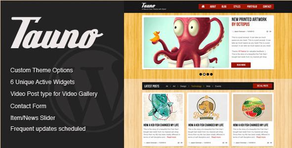 Tauno - Magazine Theme