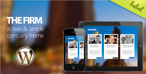The Firm - Company WordPress Theme