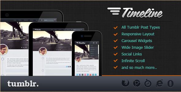 Timeline Tumblr Theme