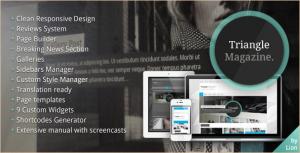 Triangle Magazine - WordPress Magazine Theme