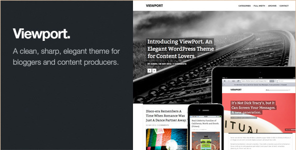 Viewport - Responsive Magazine WordPress Theme