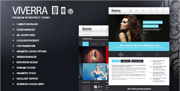 Viverra - Business WordPress Theme