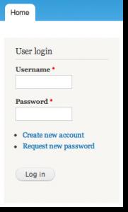 Login to Drupal install on HostGator