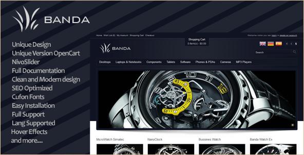 Banda - Modern Shop